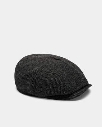 3c231e83 Ted Baker TREACLE Textured Baker boy hat