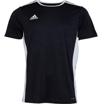 bbc3f616d adidas Mens Entrada 18 Training Top Black White