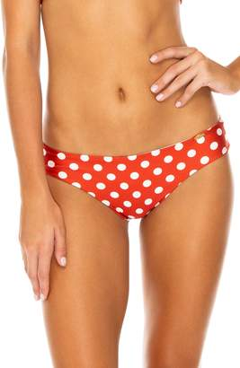 Luli Fama Ruched Back Bikini Bottoms