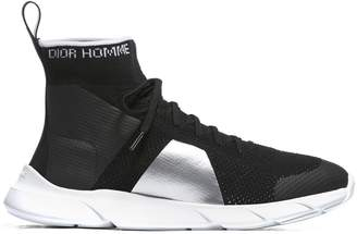 Christian Dior High Ankle Sock Sneakers