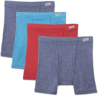 Fruit of the Loom Young Men'S Beyond Soft Crew T-Shirt, Pack of 4 Underwear