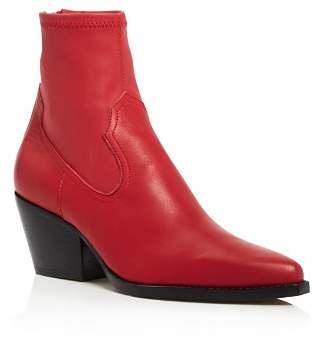 Dolce Vita Women's Shanta Leather Western Booties - 100% Exclusive