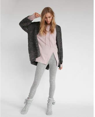 Express shaker knit bucket sleeve coatigan