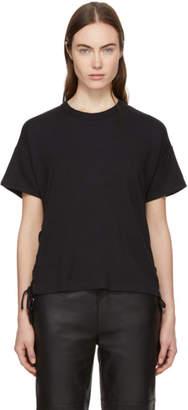 Rag & Bone Black Lace-Up T-Shirt