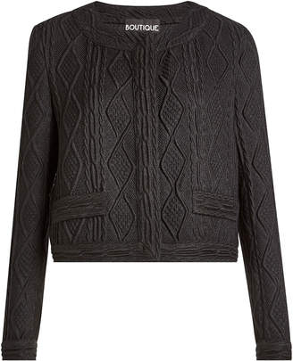 Moschino Cardigan with Wool