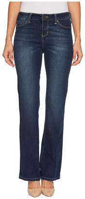 Liverpool Petite Lucy Bootcut with Shaping and Slimming Four-Way Stretch Denim in Lynx Wash Women's Jeans