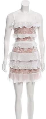 For Love & Lemons Sleeveless Mini Dress w/ Tags