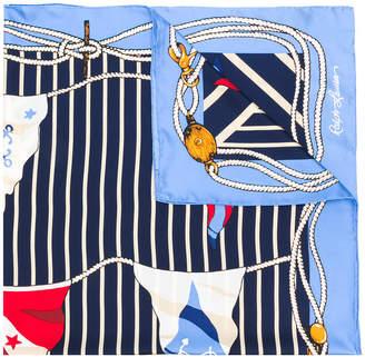Polo Ralph Lauren nautical motif scarf