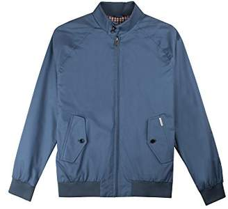 Ben Sherman Men's Core Harrington Jacket, (Blue Shadow 119), Large