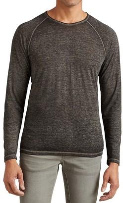 John Varvatos Star USA Long Sleeve Raglan Tee $98 thestylecure.com