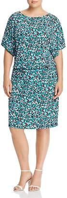 Tiffany & Co. Leota Plus Floral-Print Dress