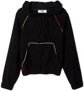 MSGM Tweed Sweatshirt