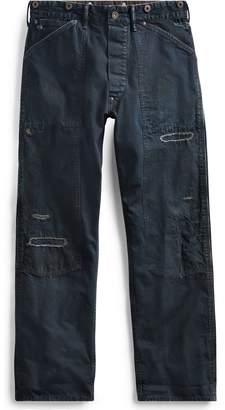 Ralph Lauren Straight Indigo Selvedge Pant