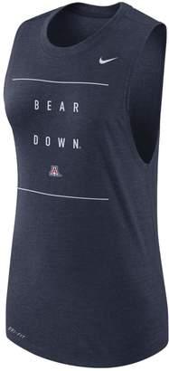 Nike Women's Arizona Wildcats Dri-FIT Muscle Tank Top