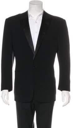 Ralph Lauren Black Label Wool Tuxedo Blazer
