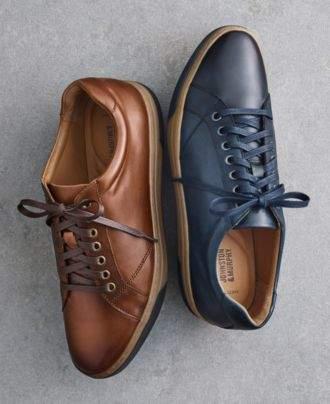 Johnston & Murphy Men's Fenton Lace to Toe Athletic Sneakers