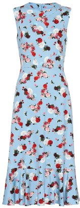 Erdem Exclusive to Mytheresa Grazia floral ponte dress