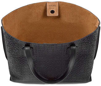 Loewe T Logo-Embossed Shopper Bag