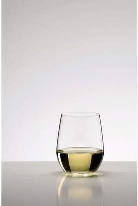 "Riedel O"" Crystal Stemless White Wine Glass"