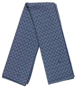 Hermes Cashmere & Silk-Blend Muffler