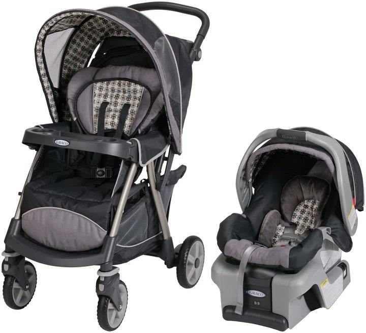 Graco UrbanLite Click Connect Travel System - Vance
