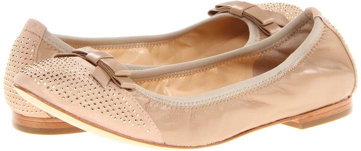 Ivanka Trump Lori (Beige Leather) - Footwear
