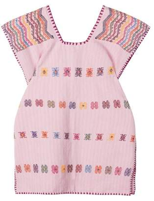 Pippa Holt Kids - No.55 Embroidered Kaftan - Womens - Pink Multi