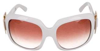 Roger Vivier Square Buckle Sunglasses