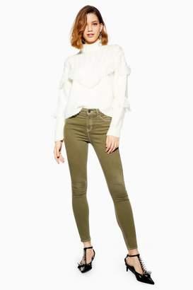 Topshop Khaki Jamie Jeans