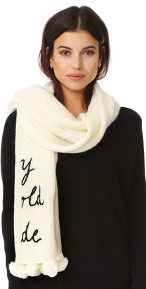 Kate Spade New York Baby It's Cold Outside Muffler $168 thestylecure.com