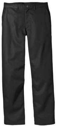 Dickies Men's Relaxed Fit Cotton Flat Front Pant