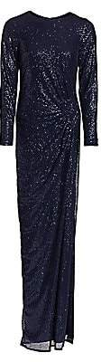 Teri Jon by Rickie Freeman Women's Ruched Sequin Gown