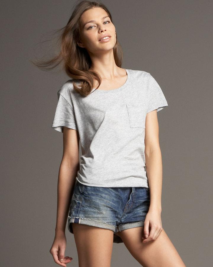 J Brand Jeans Roll-Up Denim Shorts