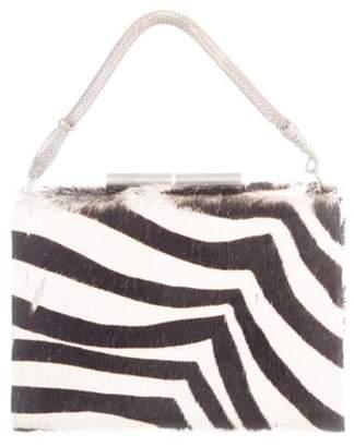 John Galliano Ponyhair Top Handle Bag black Ponyhair Top Handle Bag