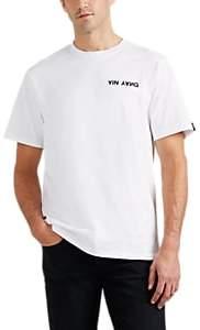"Rag & Bone Men's ""Yin Yang"" Cotton T-Shirt - White"
