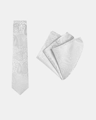 Paisley Tie & Pocket Square Set