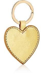 Barneys New York WOMEN'S LEATHER HEART KEY CHAIN-GOLD