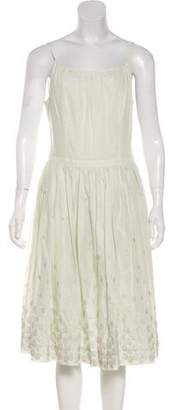 Martin Grant Sleeveless Knee-Length Dress w/ Tags