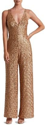 Women's Dress The Population Charlie Sequin Jumpsuit $298 thestylecure.com