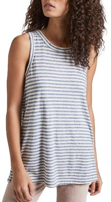 Women's Current/elliott The Muscle Stripe Tee $128 thestylecure.com