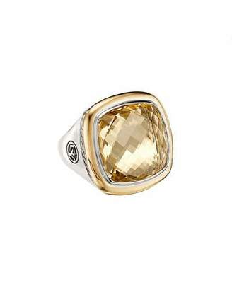David Yurman Albion 18mm Silver/Gold Statement Ring