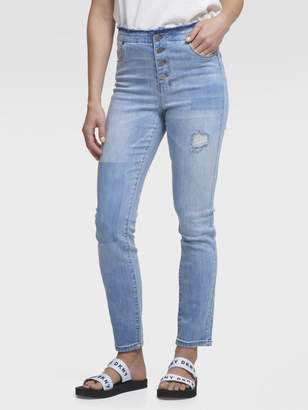 DKNY The Skinny Jean - Deconstructed