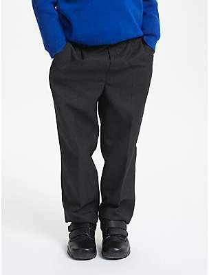 9761eac9e John Lewis & Partners Boys' Regular Fit Easy Care School Trousers