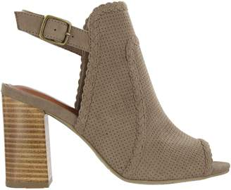 Mia Shoes Cutout Sandals - Pat