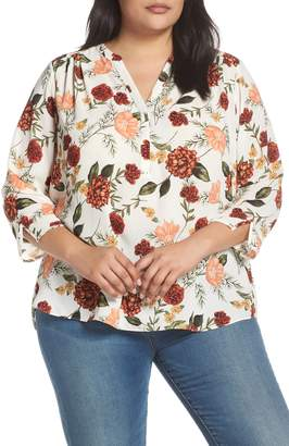 NYDJ Curves 360 by Perfect Blouse