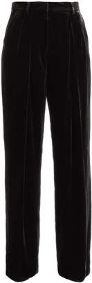 Fendi Wide-leg velvet trousers
