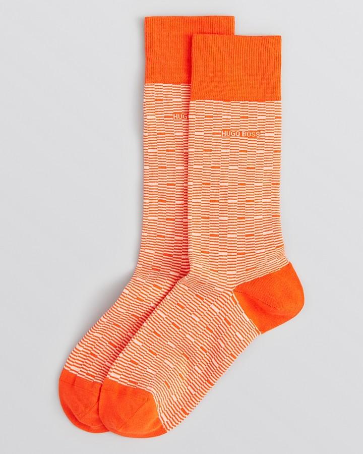 HUGO BOSS Box Pattern Socks