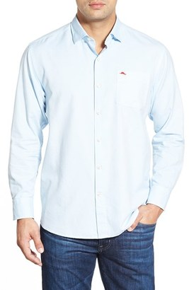 Men's Tommy Bahama 'Island Twill' Island Modern Fit Sport Shirt $118 thestylecure.com
