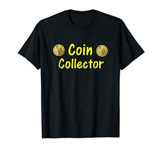 Coin Collector Shirt Money Collecting Numismatist Hobby Gift