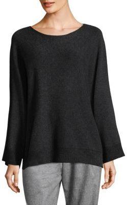 Lafayette 148 New York Vanise Scoopneck Sweater $398 thestylecure.com